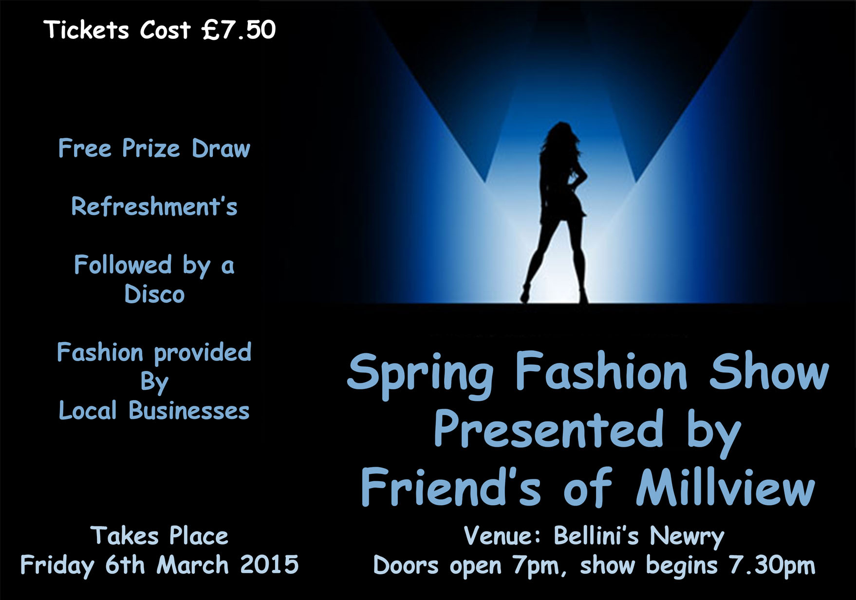 Friends of Millview Spring Fashion Show