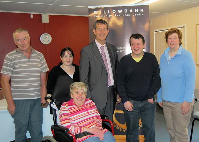 Edwin Poots Visteed Willowbank Community Resource Centre
